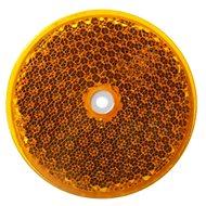 ACI Odrazka oranžová kulatá Wital (průměr 75 mm)  - Odrazka