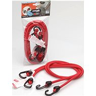 ACI Gumicuk with 2 double hooks, length 100 cm, diameter 8 mm, set of 2 TÜV homologations - Bungee Cord