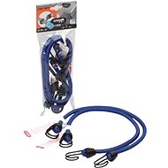 ACI Gumicuk with 2 double hooks, length 60 cm, diameter 8 mm, set of 2 TÜV approvals - Bungee Cord