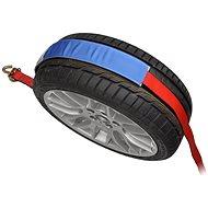 ACI Upínací popruh pro převoz vozidel přes kolo, 5 t, 3x otočný hák, protiskluzový návlek, ráčna)