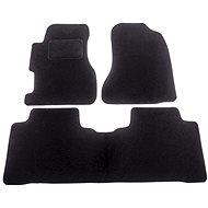 ACI textilní koberce pro HONDA Civic 04-06  černé (sada 3 ks) - Autokoberce