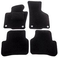 ACI textile carpets for VW PASSAT 05-10 black (for oval clips) set of 4 pcs - Car Mats