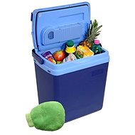 COMPASS Cooling box 25litres BLUE 220/12V display with temperature + gift! - Cool Box