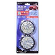 COMPASS Světla denního svícení kulatá 18 LED/12V - Světlo pro denní svícení