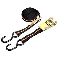 COMPASS Strap with ratchet and hooks 5m TÜV/GS - Straps