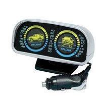 Měřič náklonu vozidla 12V osvětlený - Měřič