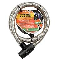 Zámek PITON 120cm/25mm lankový - Zámek na motorku