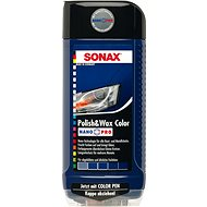 SONAX Polish & Wax COLOR modrá, 500ml - Vosk na auto