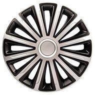 "VERSACO TREND DC SILVER/BLACK 14"" 4pcs - Wheel Covers"