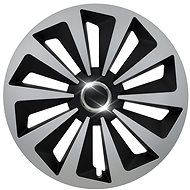 "FOX RING SILVER / BLACK 15 "" - Wheel Covers"
