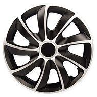 "QUAD Silver-Black 13"" - Wheel Covers"