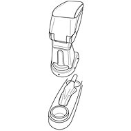 Adapter for the 56076 DAEWOO KALOS Armrest - Adapter