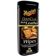 MEGUIAR'S Gold Class Rich Leather Wipes - Čisticí ubrousky
