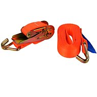 Ribbon strap with ERGO ratchet and hook, 4m / 1T / 25mm - Tie Down Strap