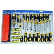 Set of screwdrivers and bits, 59pcs, CrV - Screwdriver Set