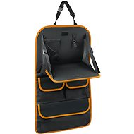 COMPASS Front seat chair with ORANGE table - Car Seat Organizer