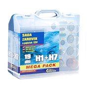 COMPASS  MEGA H1+H7+pojistky, náhradní sada 12V - Autožárovka