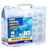 COMPASS MEGA H7+H7+fuses, 12V replacement kit - Car Bulb Kit