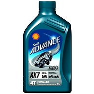 SHELL Advance 4T AX7 10W-40 (SL/MA2) 1l - Motor Oil