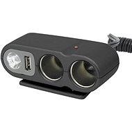 CARPOINT 12V - s USB výstupem / kabelem