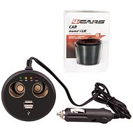 4CARS  zapalovače s USB a testrem - Autoadaptér