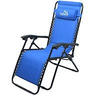 LIVORNO Camping Armchair, Adjustable Blue - Armchair