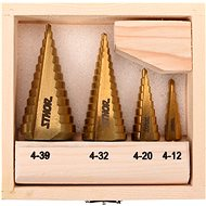 Sthor Set of Step Drills 4 pcs 4-39mm - Drill Set
