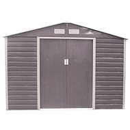 G21 GAH 706 - 277 x 255cm, Grey - Garden Shed