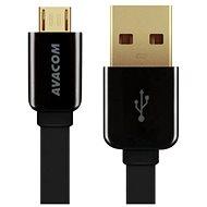 AVACOM MIC-120K microUSB 120cm černá - Datový kabel