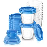 Philips AVENT VIA cups- 10pcs - Food Container Set