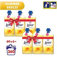 LENOR Summer Breeze 6× 1,8 l (360 praní)