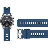 Aligator Watch 22 mm silikonový řemínek modrý - Řemínek