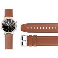 Řemínek Aligator Watch 22 mm kožený řemínek hnědý