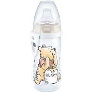 NUK láhev Active Cup, 300 ml - Medvídek Pú, tyrkysová - Láhev na pití pro děti