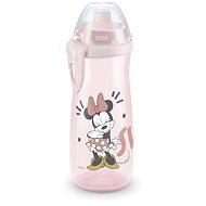 NUK láhev Sports Cup, 450 ml - Mickey, červená - Láhev na pití pro děti