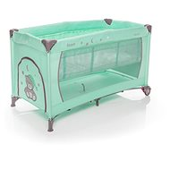 ZOPA NANNY with Positioning - Green - Travel Bed
