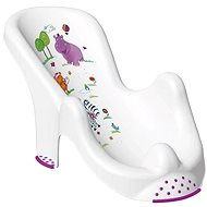 OKT HIPPO Bathtub Chair - White - Baby bath lounger