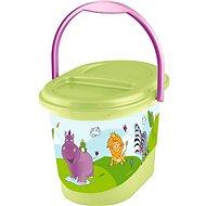 KEEEPER Koš na pleny HIPPO - zelený - Kyblík na pleny