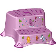 KEEEPER Dvojstupínek HIPPO - fialový - Stupátko