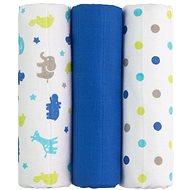 T-tomi Látkové TETRA pleny blue giraffe - Látkové pleny