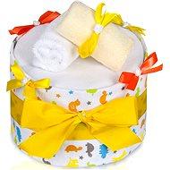 T-tomi Plenkový dort LUX velký - žirafa - Plenkový dort