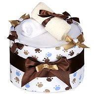 T-tomi Plenkový dort LUX velký - bílé tlapky - Plenkový dort