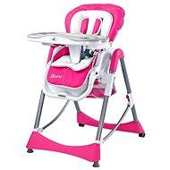 CARETERO Bistro - růžová - Jídelní židlička
