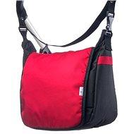 CARETERO taška na kočárek - černá/červená - Taška na kočárek