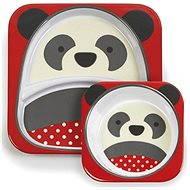 Skip hop Zoo Jídelní set - Panda - Dětská jídelní sada