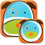 Skip hop Zoo Jídelní set - Pejsek - Dětská jídelní sada