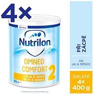 Nutrilon 2 Omneo Comfort speciální pokračovací mléko 6+ 4× 400 g