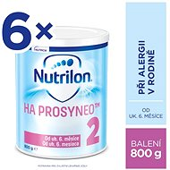 Nutrilon 2 HA PROSYNEO speciální pokračovací kojenecké mléko 6× 800 g