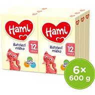 Hami 12+ Batolecí mléko 6× 600 g - Kojenecké mléko