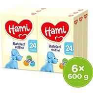 Hami 24+ Batolecí mléko 6× 600 g